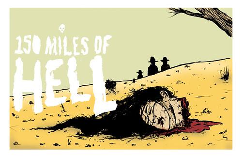 150 Miles of Hell Illustration