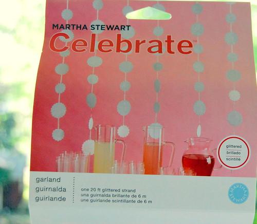 Martha Stewart garland