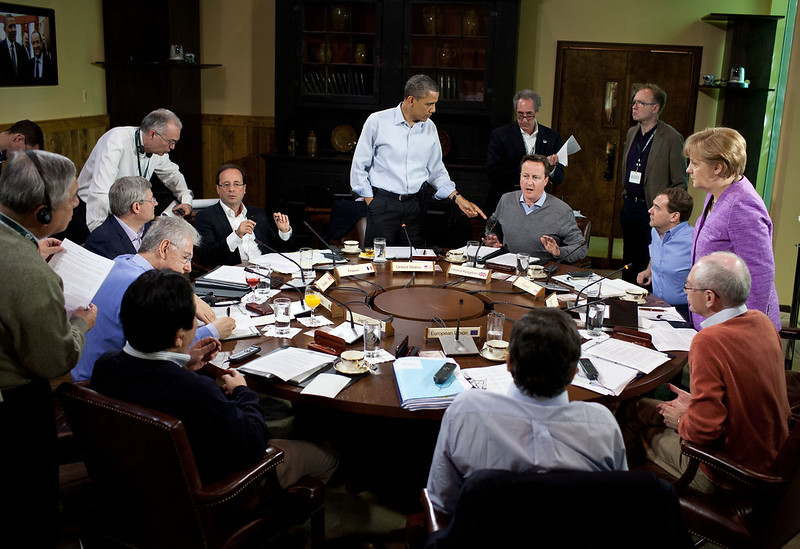 Camp David, Md., May 19, 2012. (Official White House Photo by Pete Souza)