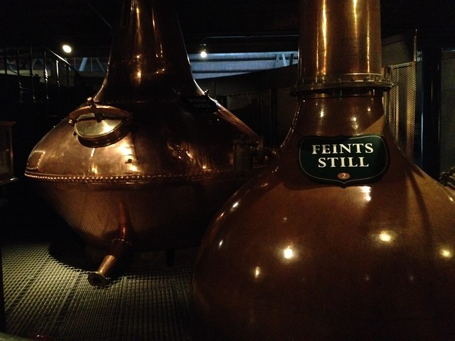 Feints Still, distilling process - The Old Jameson Distillery