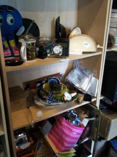 Shelves o' plenty