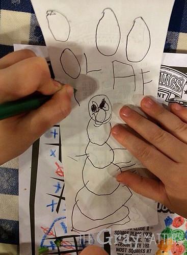 Olaf Drawing