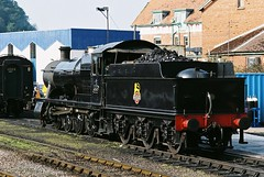 Study of 2884 class, No. 3850, Minehead, 21st March 2012