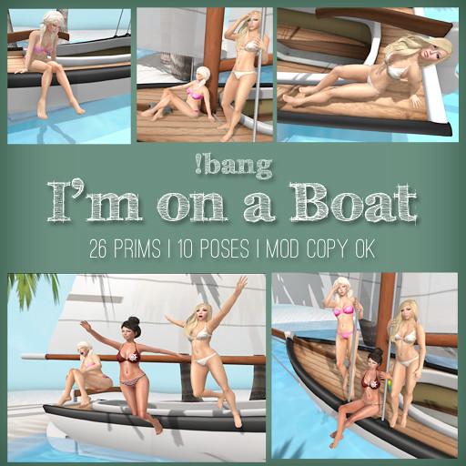 !bang - I'm on a Boat