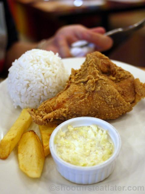 Sunburst Fried Chicken Cebu- sunny solo ribkeel P99