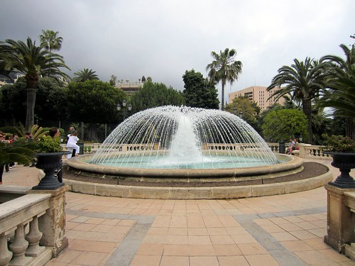 fountain in monte carlo