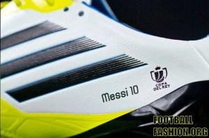Lionel Messi's Copa del Rey 2012 adidas adizero F50 Soccer Boots