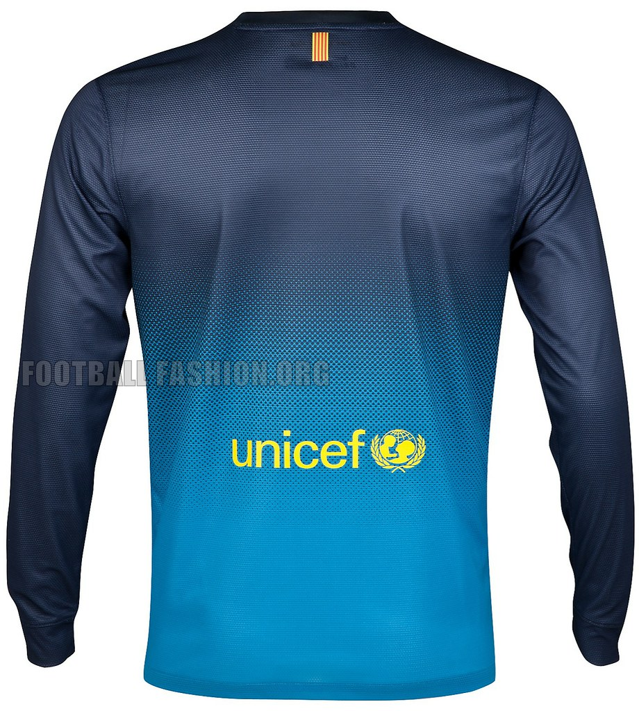 86b8708d189 ... FC Barcelona Nike 2012/13 Home Goalkeeper Soccer Jersey / Football Kit  / Camiseta