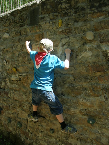 Try bouldering