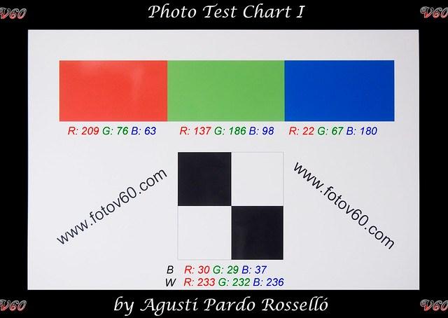 Carta de color - Olympus E-PM1 ISO 400 color