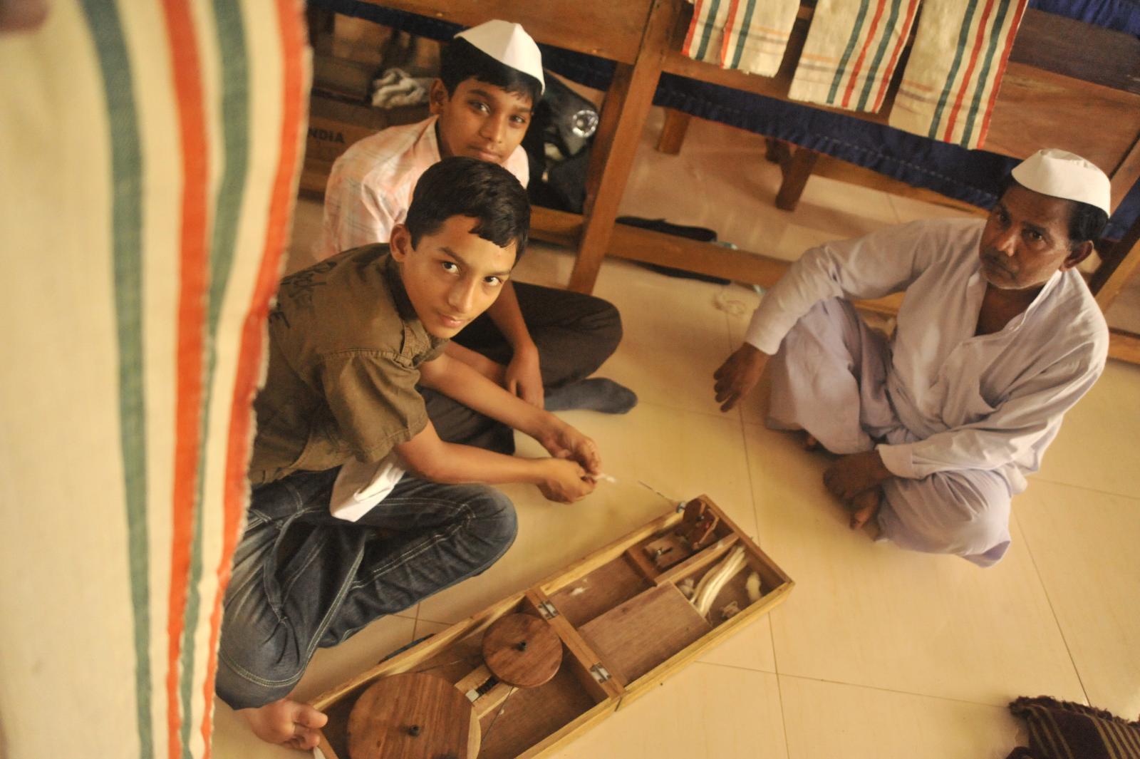 Gandhis in making.. hopefully at least gandhism