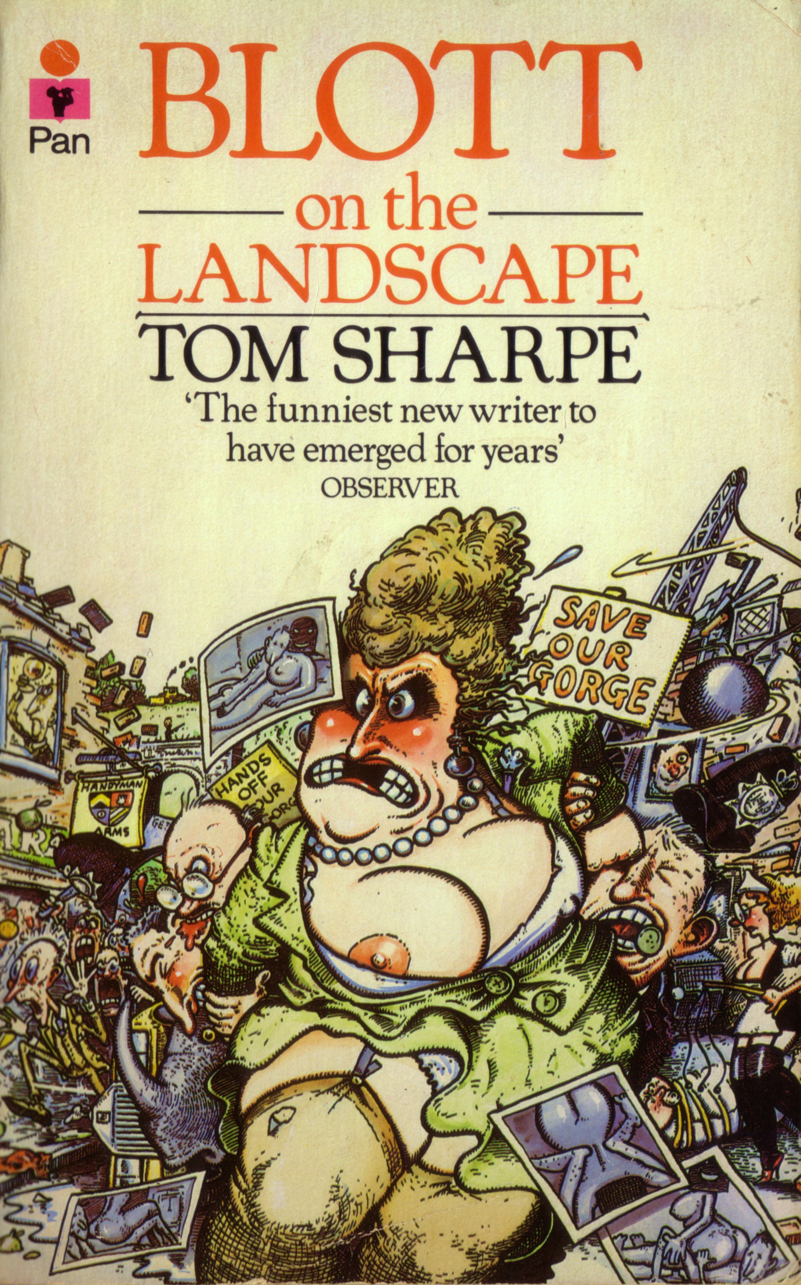 Jacket cover of Blott on the Landscape by Paul Sample