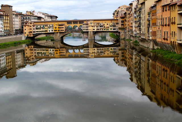 Sunday: Reflections on the Arno