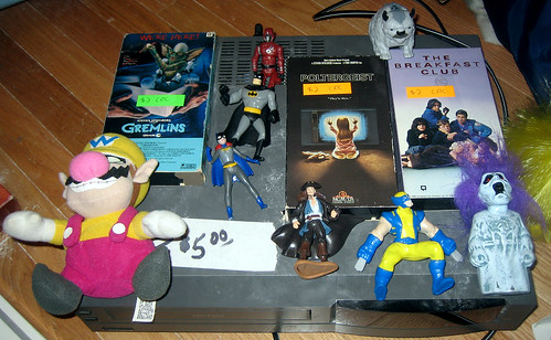 20120519 - yardsale booty - TV-related - action figures, toys, vhs tapes, vcr - TV-RELATED STUFF - IMG_4183