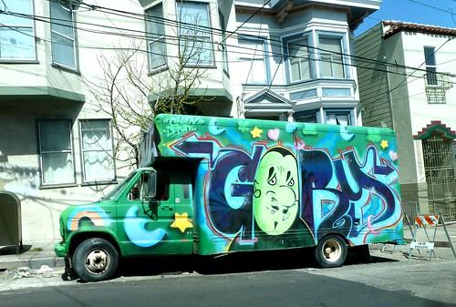SF Graffiti Truck by dyannaanfang