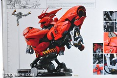Formania Sazabi Bust Display Figure Unboxing Review Photos (5)