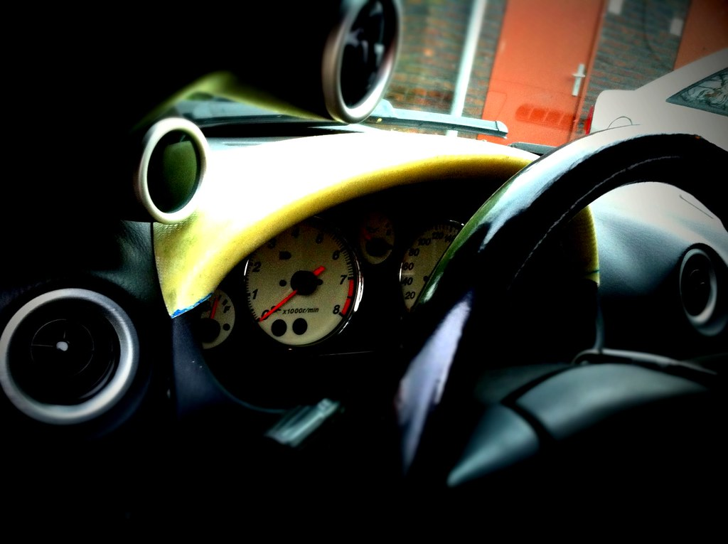 Custom dash gauge holder