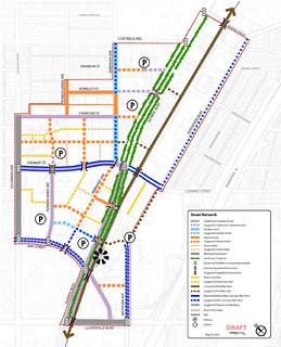 Bergamot Area Plan Street Map