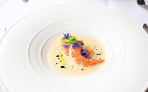 3rd Course: Hawa'iian Sweet Shrimp