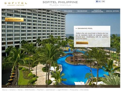 Sofitel Manila Official website