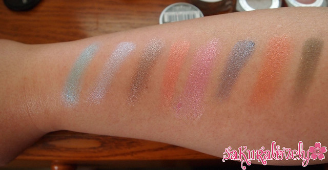 L'Oreal Color Infallible Miss Candy/L'Or electric Swatches