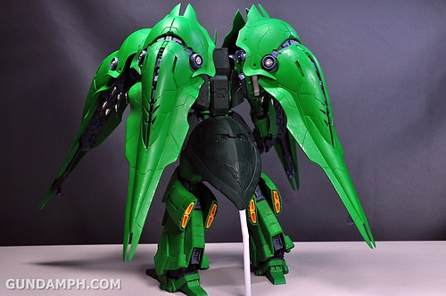 1-100 Kshatriya Neograde Version Colored Cast Resin Kit Straight Build Review (120)