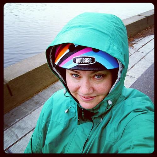 30 Days of Biking: Day 23 of 30 - Rainy Monday morning commute.
