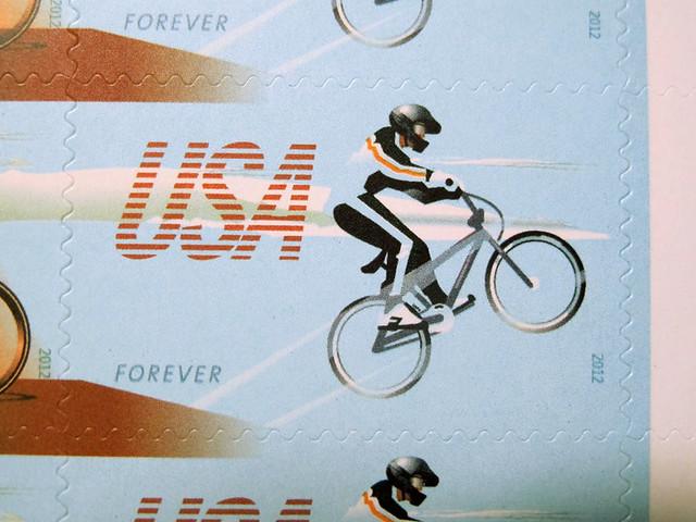 US Bike Stamps - 4