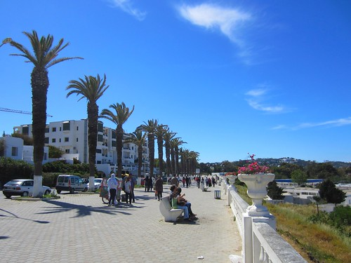 "the ""boardwalk"" in tunis"