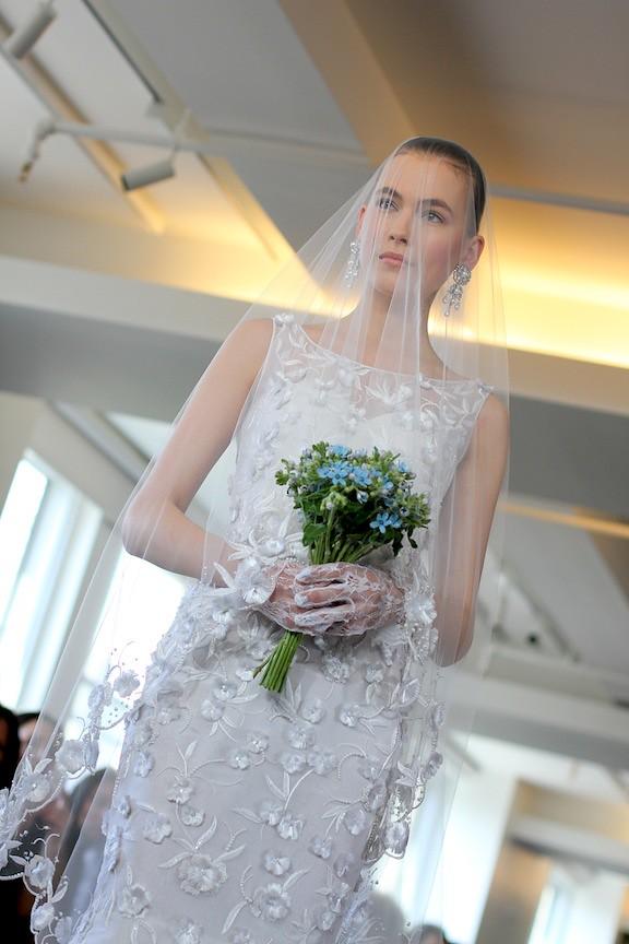 Oscar de la Renta Bridal 2013 86