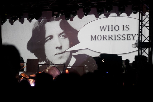 Teaser: Morrissey Live in Singapore