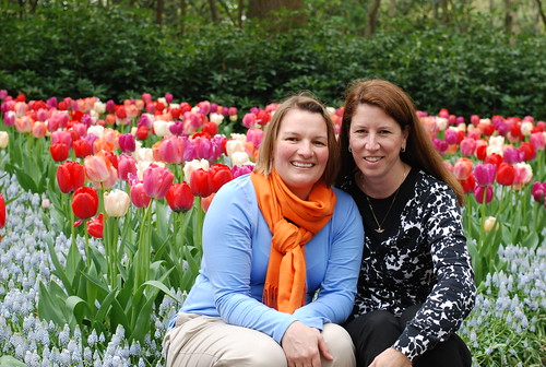 Tricia & me at the Keukenhof