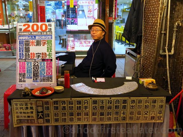 Raohe St. Night Market- fortune telling
