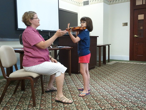 Concerto Posture with Mrs. Goss