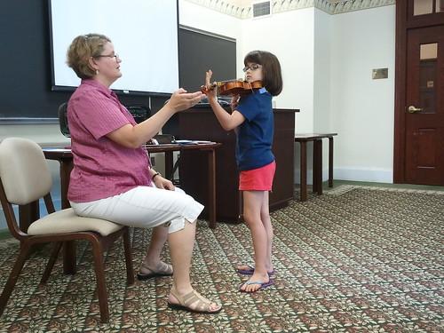 Concerto Posture with Mrs. Goss