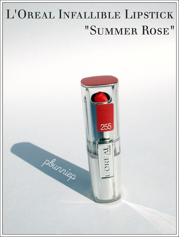 L'Oreal Infallible lipstick_06