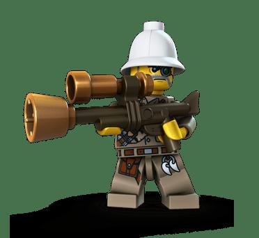 LEGO Monster Fighters Major Quinton Steele