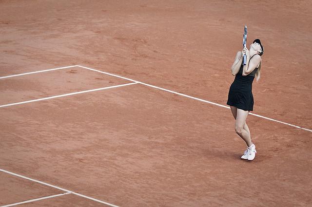 Pour la première fois en finale Maria Sharapova