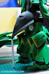 1-100 Kshatriya Neograde Version Colored Cast Resin Kit Straight Build Review (87)