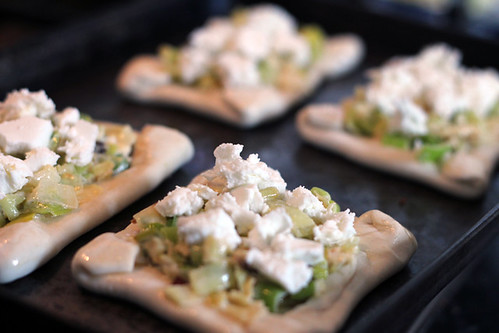 Leek and Goats cheese pastry (4/6)