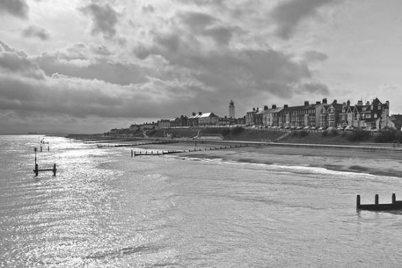 A wintery day in Southwold