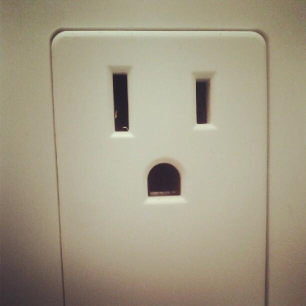 Boo! (Hello little fella.)