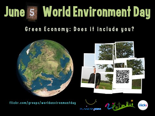 June 5 is World Environment Day, Does it Include You? #wed2012