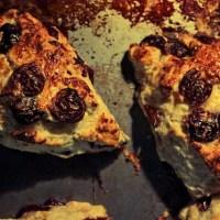 Cherry Cheese Scones