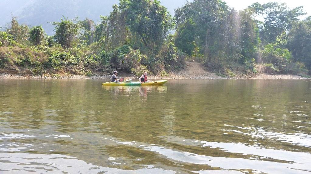 Kayaking - Vang Vieng, Laos-4