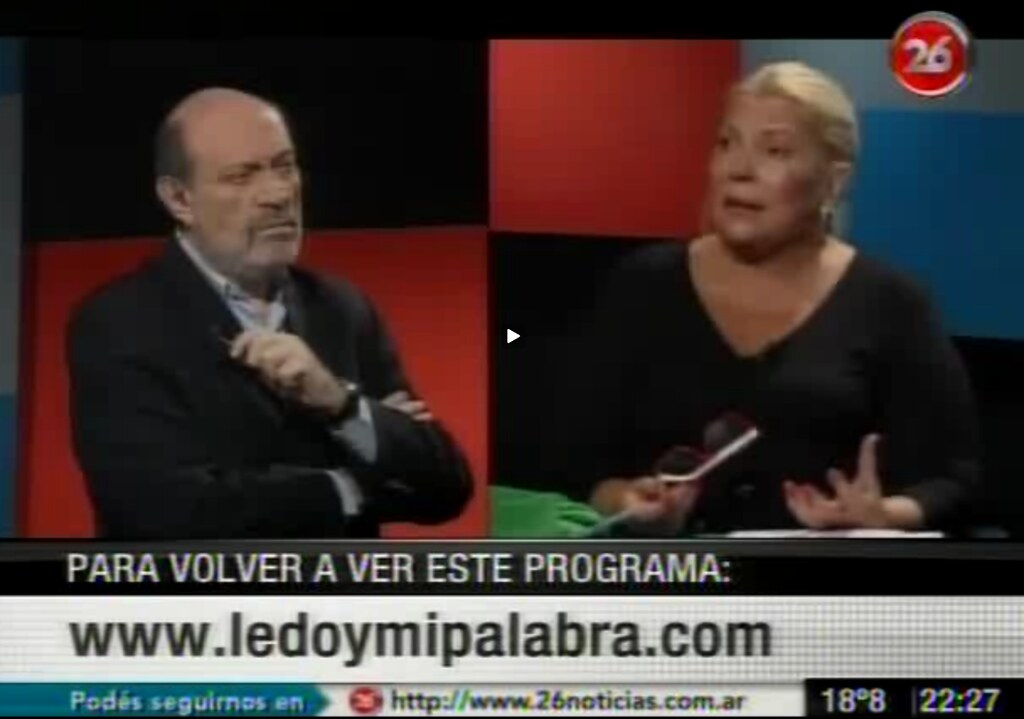 Carrió explica Expropiación de YPF a Repsol