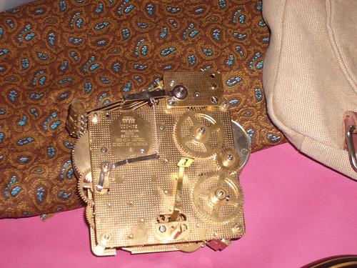 Clockworks & Vest Fabric