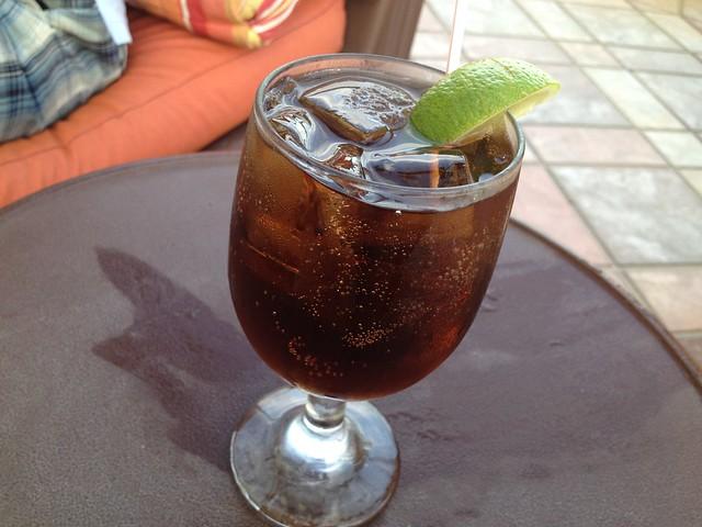 Rum and Coke Palio
