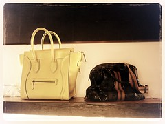 Celine bag and Ling Wu's Iggy's Girlfriend. Foodbar Dada, 60 Robertson Quay