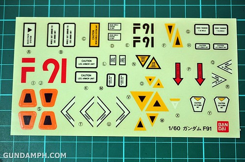 Gundam F91 1-60 Big Scale OOTB Unboxing Review (34)